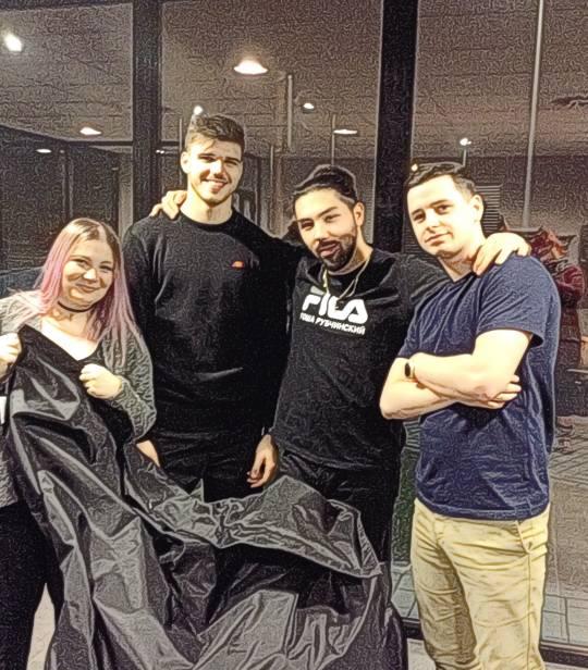 Filippo, Alex, Cidjy et Remy – Eden Garden