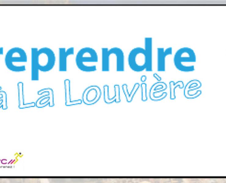 Salon «Entreprendre à La Louvière»