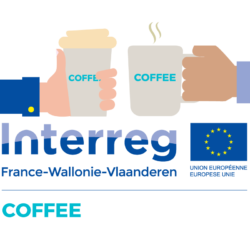 Coffee coworking logo