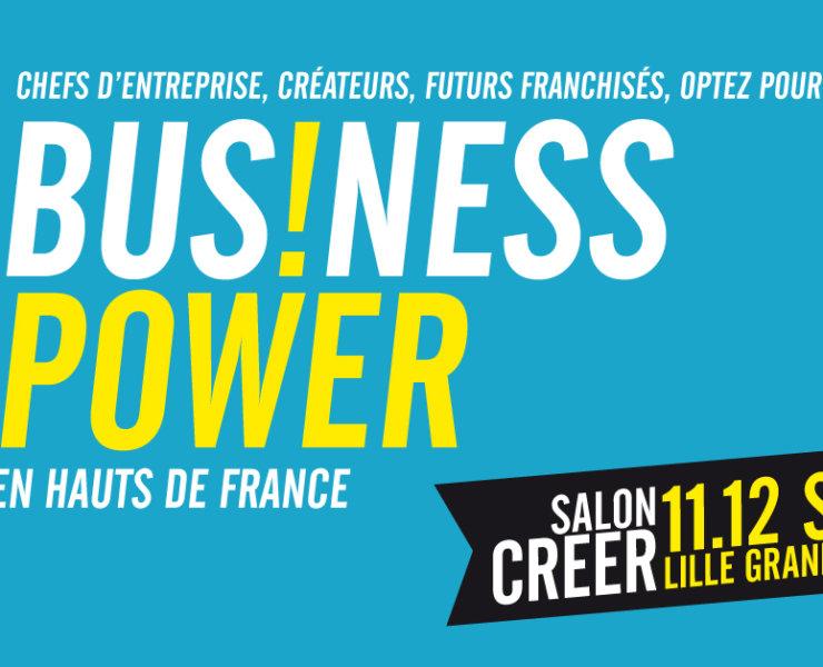 Visite COFFEE : Salon BUSINESS POWER à Lille