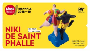 COFFEE : Visite guidée expo Niki de Saint Phalle + Networking!