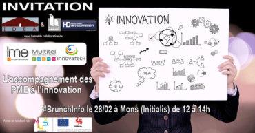 #BrunchInfo «L'accompagnement des PME à l'innovation»